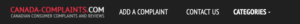 Canada-complaints.com Removal